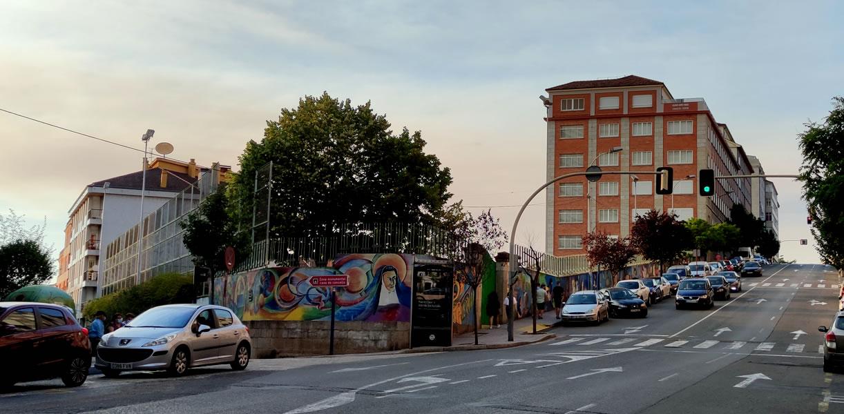 Colegio Carmelitas de Ourense en San Francisco