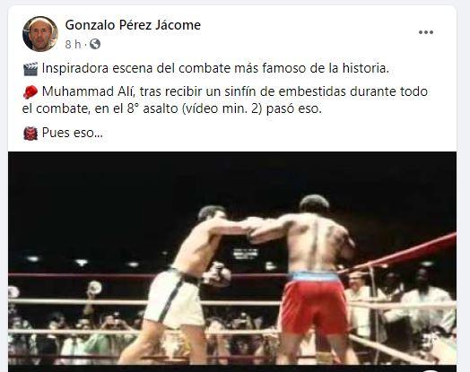 Jácome Facebook