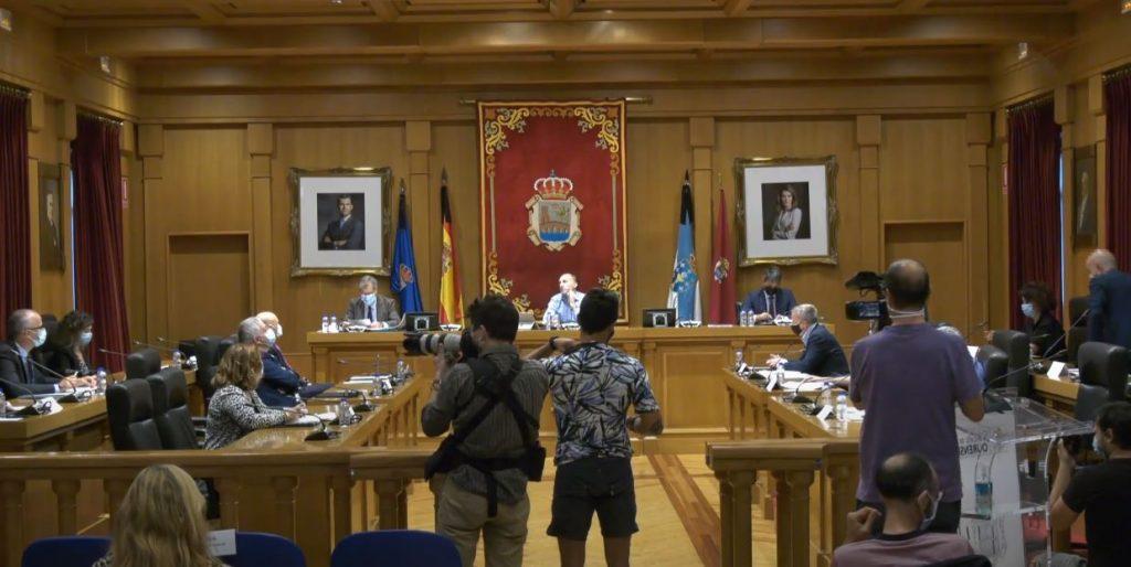 Pleno Extraordinario del Concello de Ourense