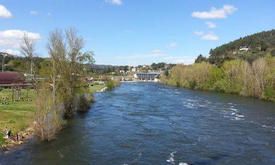 Río Miño a su paso por Oira