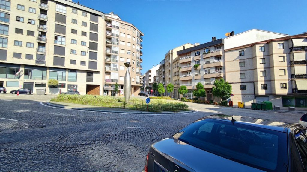 Rotonda calle Dalí en O Couto