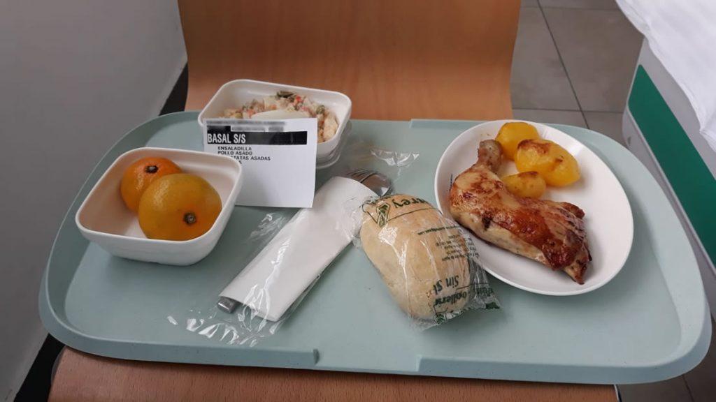 Comida del CHUO