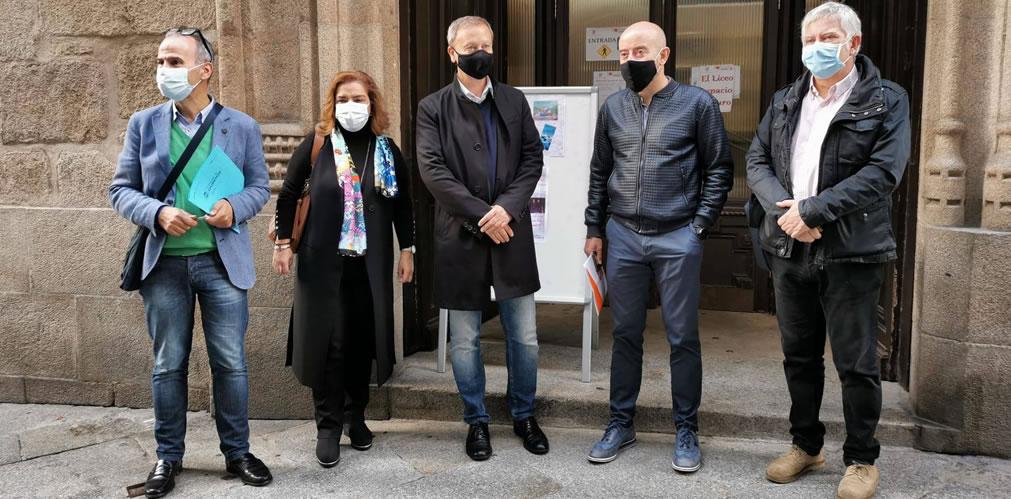 Encuentro de partidos políticos de Ourense