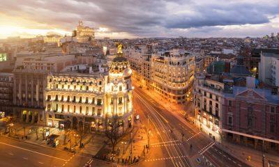 Madrid desierto de noche
