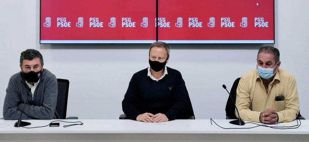 PSdeG PSOE y Rafa Villarino