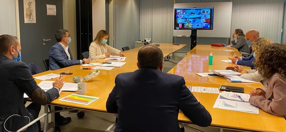 Reunión de la Xunta de Galicia