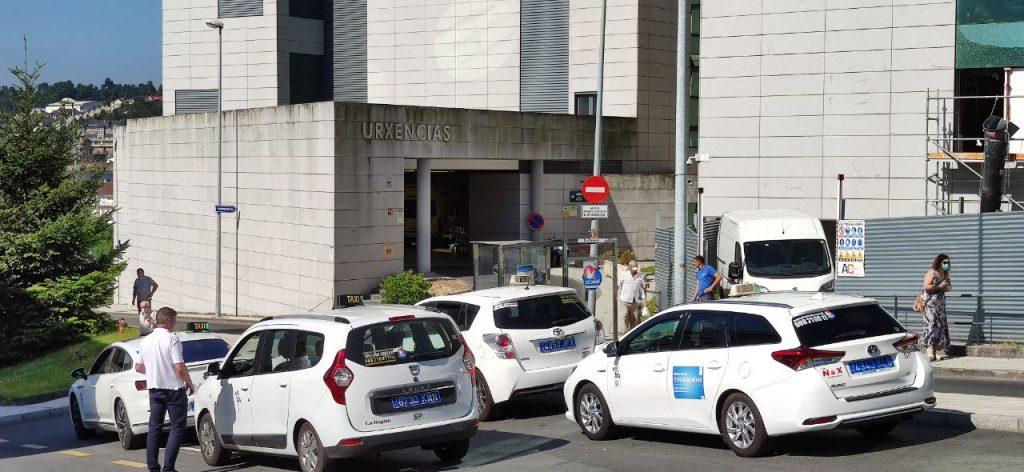 Taxis en Urgencias del Chuo