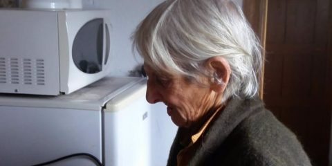 Anciana desaparecida en Amoeiro