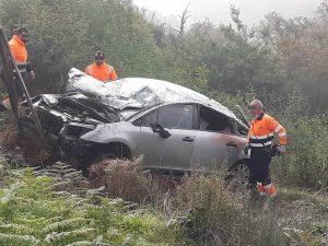 Coche del accidente