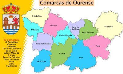 Comarcas de Ourense