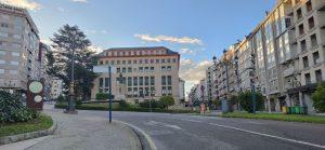 Plaza Concepción Arenal y Juzgados