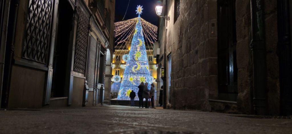 Árbol de Navidad de Ourense