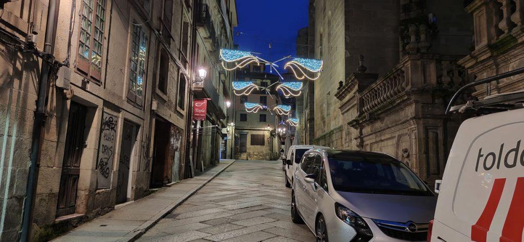 Calle Juan de Austria y sus luces