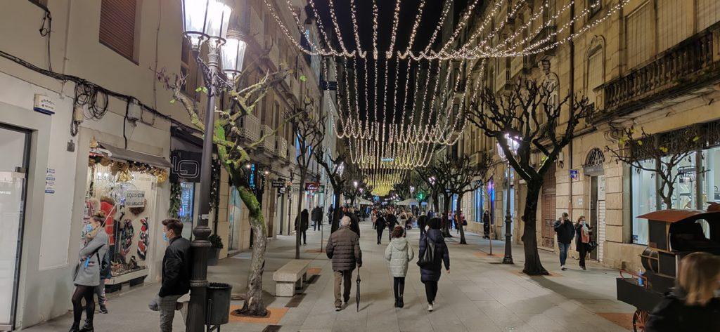 Calle del Paseo por Navidad