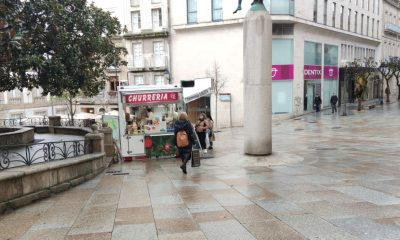 Churrería en el centro de Ourense entre Paseo y Jardines del Padre Feijóo