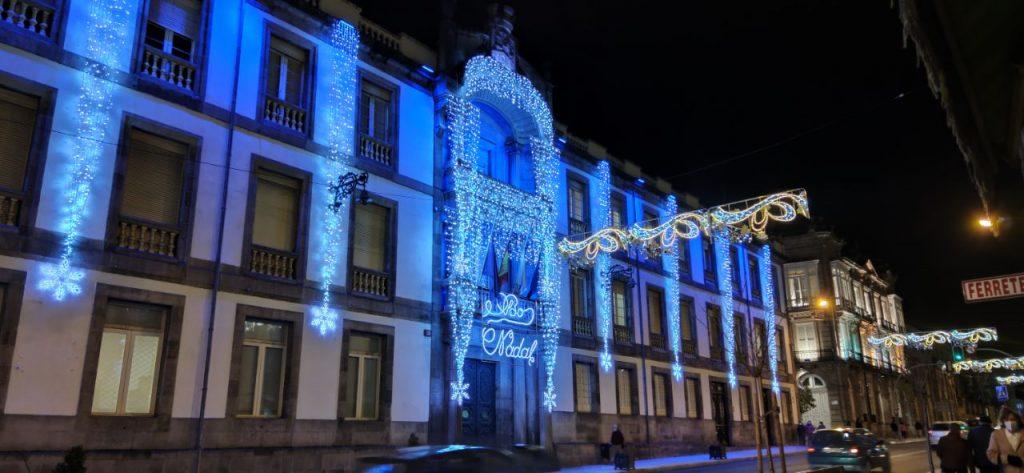 Deputación de Ourense en Navidad