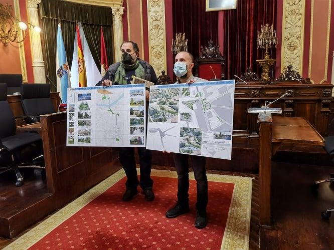 El Alcalde presenta la nueva Plaza de Concepción Arenal