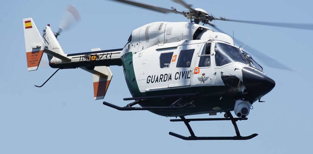 Helicóptero Guardia Civil