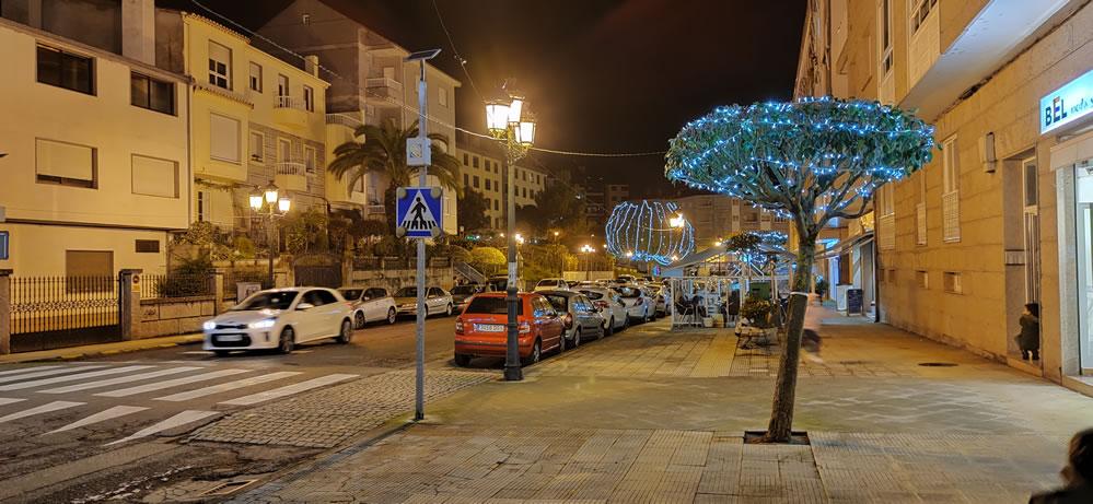 Luces en las calles de A Valenzá