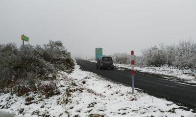 Nieve en Ourense
