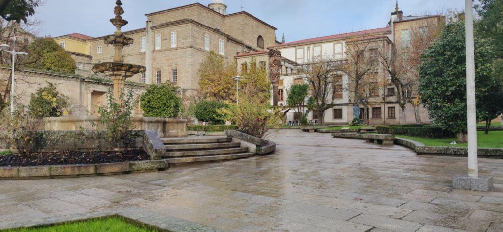 Plaza Bispo Cesáreo de Ourense