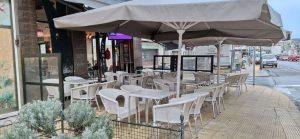 Terraza de cafetería en A Valenzá