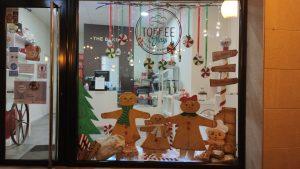 Toffee Glass y su escaparate de Navidad