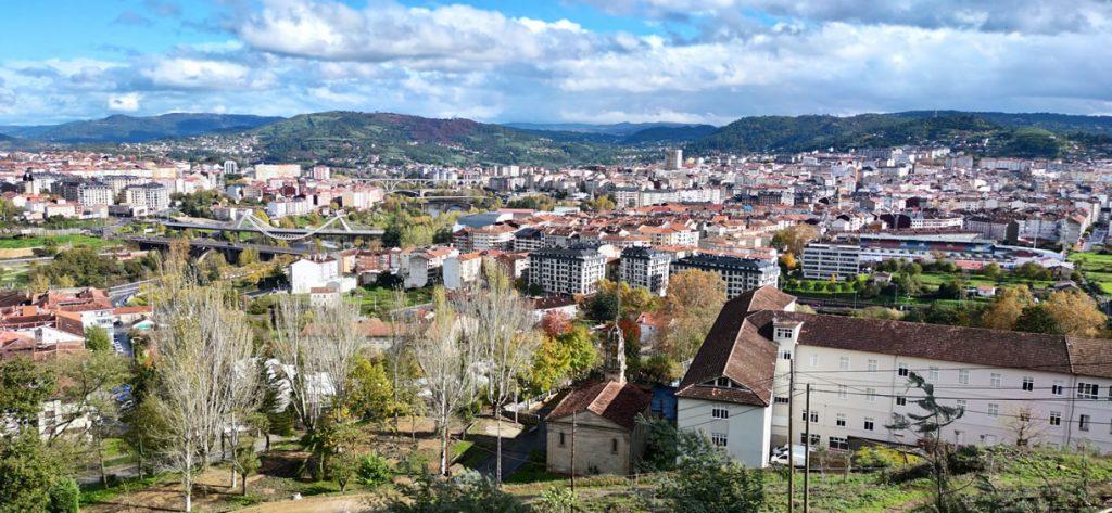 Vistas de Ourense desde el Seminario