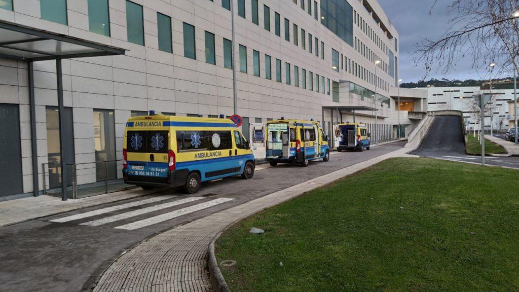 Ambulancias en el Chuo