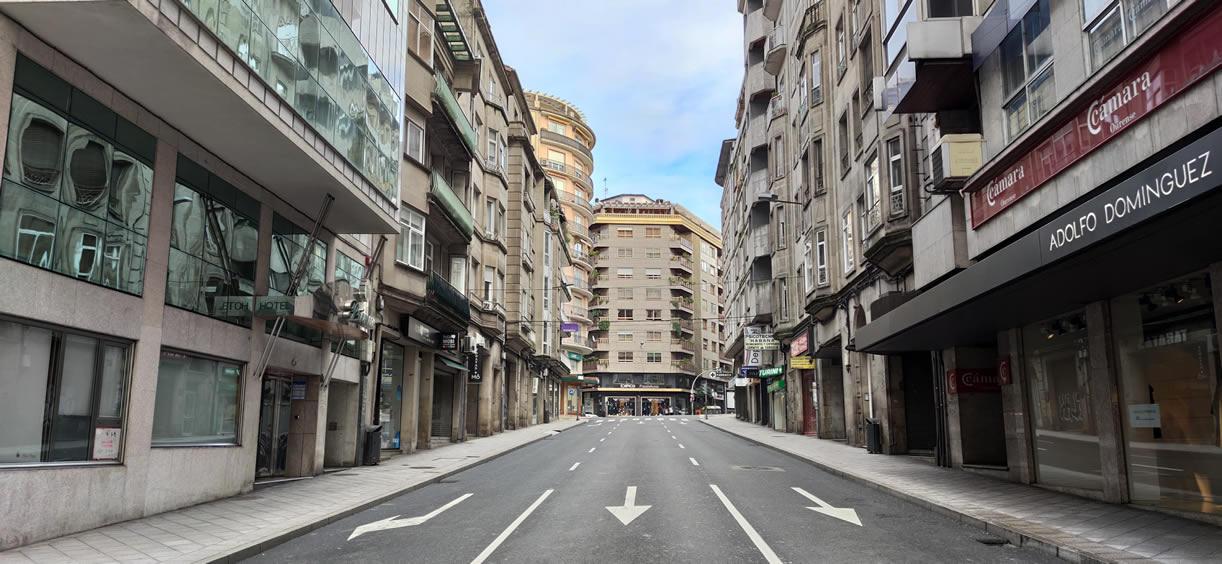 Avenida de la Habana en Ourense