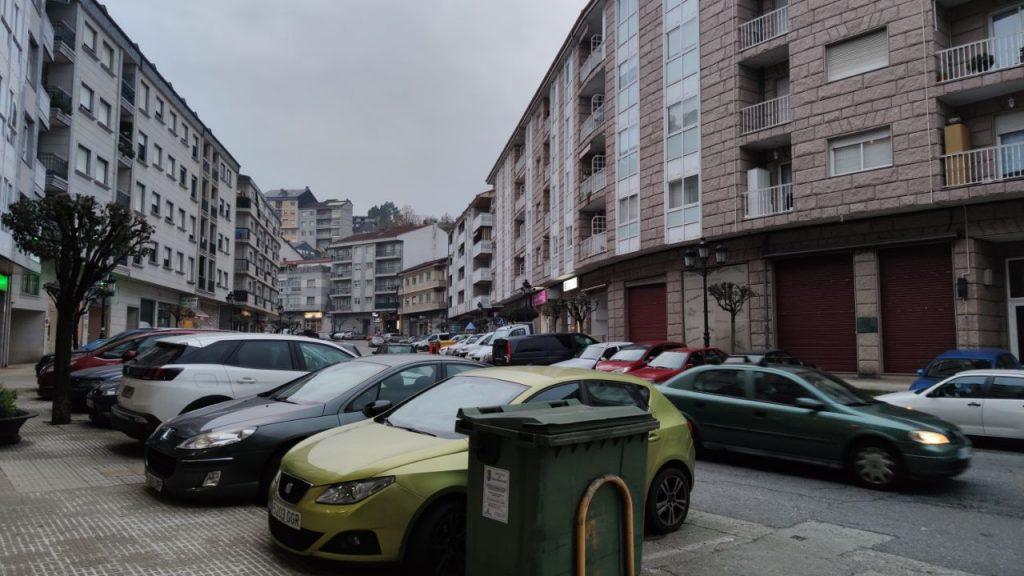 Calle principal de A Valenzá