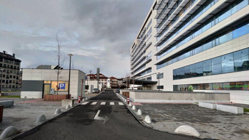 Entrada al Chuo de Ourense