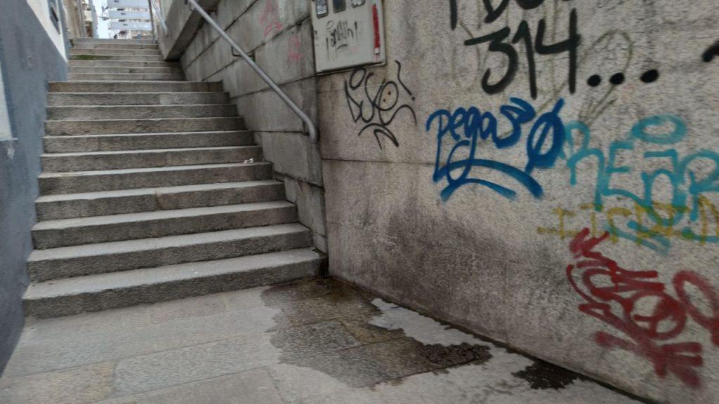 Escaleras As Burgas