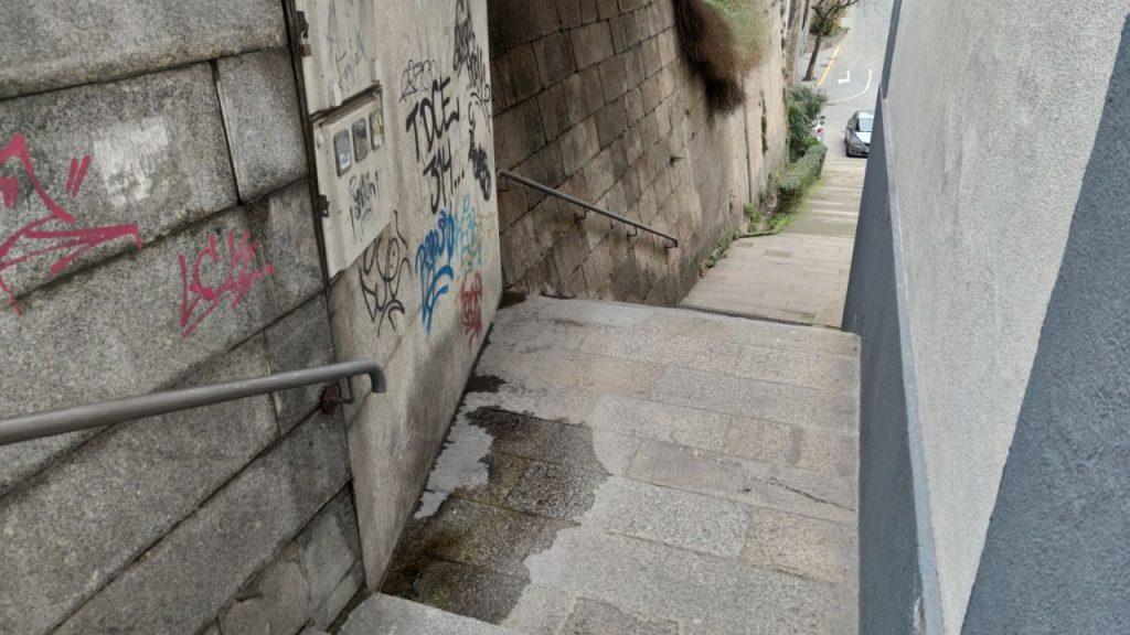 Escaleras de As Burgas