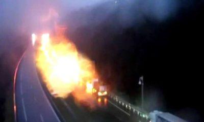 Incendio túnel A Cañiza