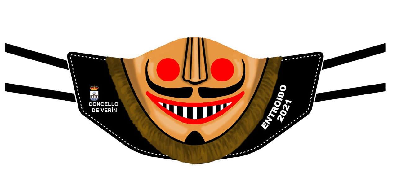 Máscara entroido Verín 2021
