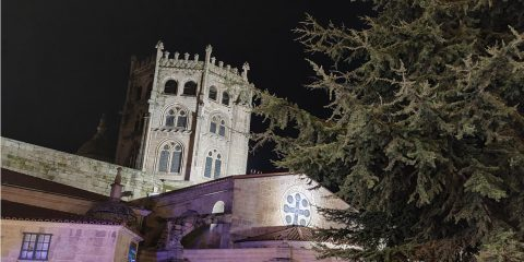 Traseras de la Catedral de Ourense