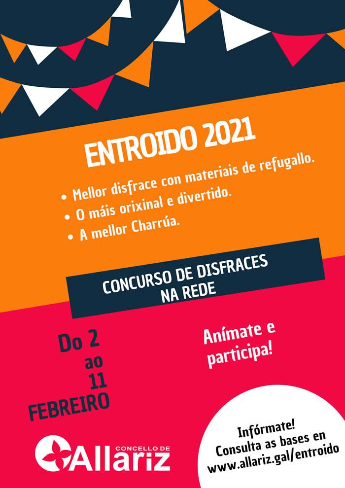 concurso virtual de disfraces de Allariz 2021