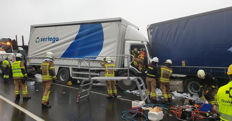 Accidente en Álava