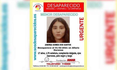 Desaparecida Andrea Gomez