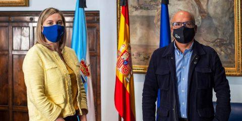 Emma González y José Manuel Baltar