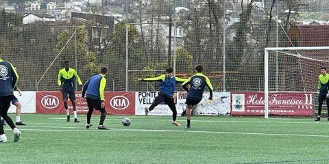 Entrenamiento del Ourense CF