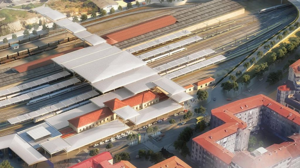 Estación Intermodal de tren de Ourense
