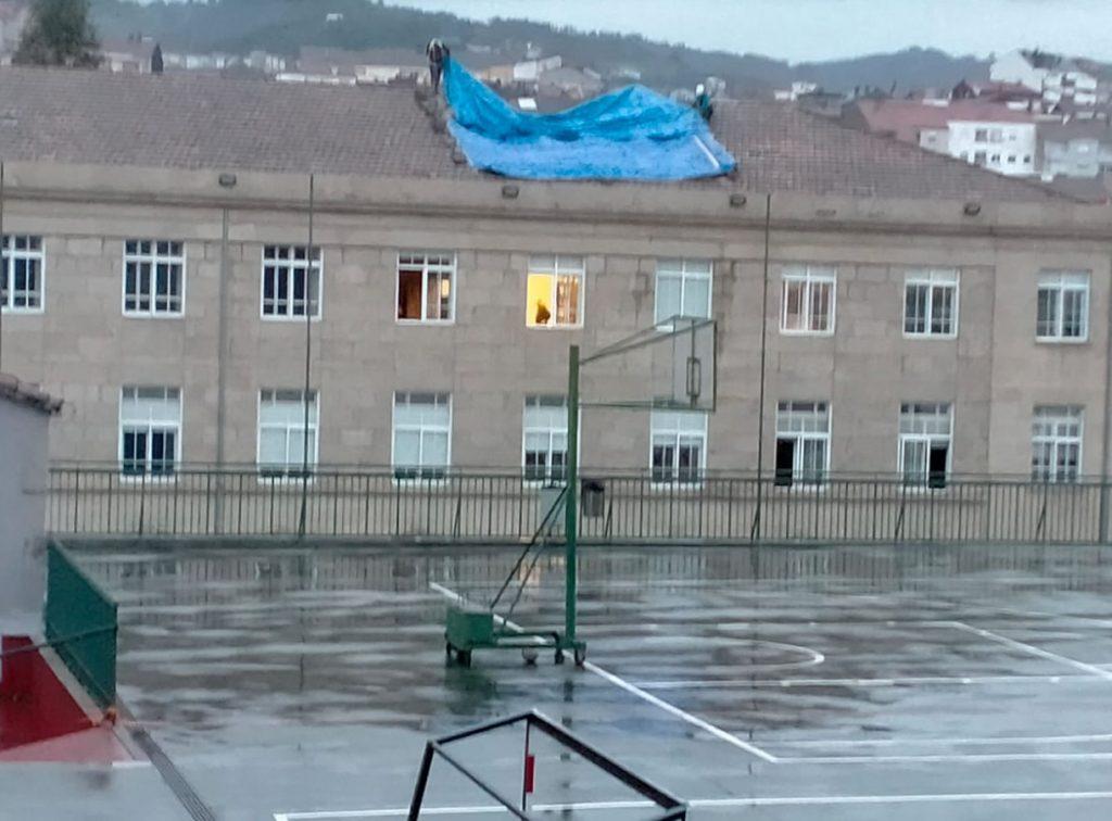 Hundimiento del tejado de Salesianos