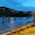 Piscinas de Oira inundadas