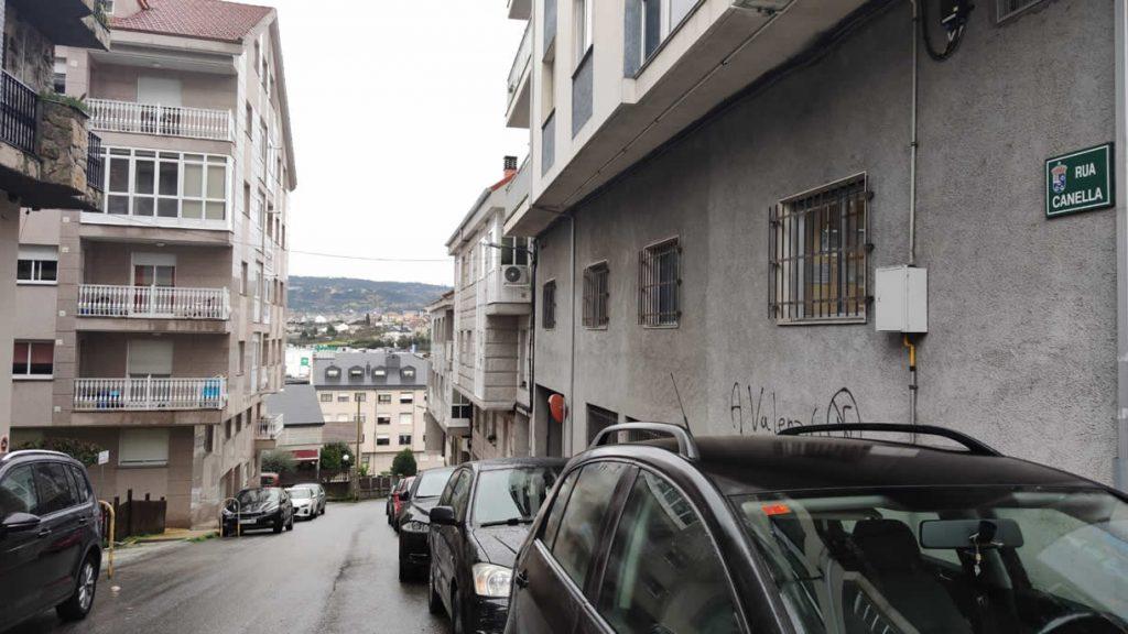 Rúa Canella de A Valenzá