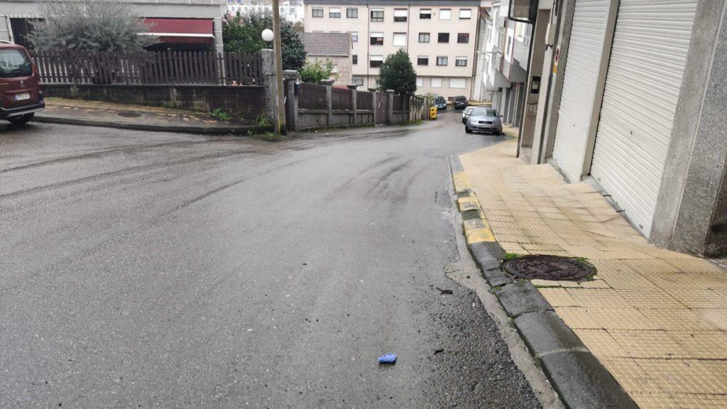 Rúa Canella en A Valenzá