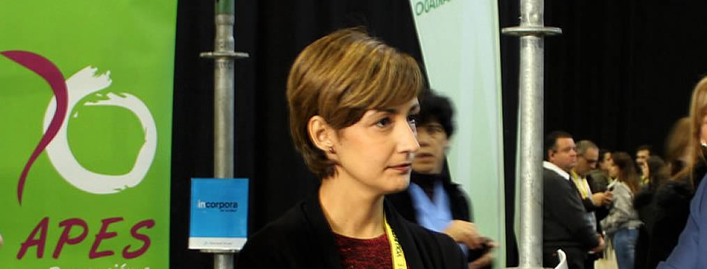 Susana Pérez Presidenta de APES