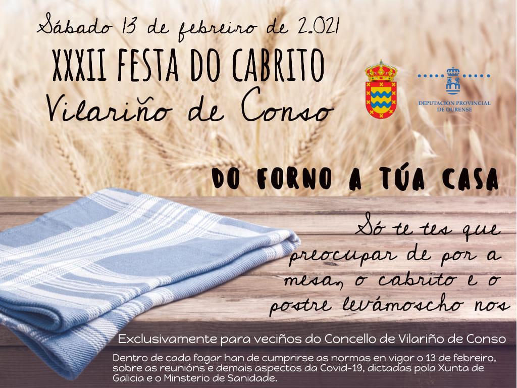 XXXII Festa do cabrito de Vilariño de Conso