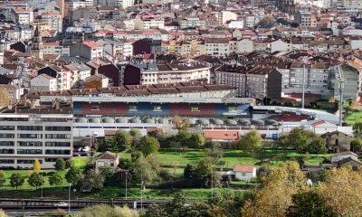 Campo do Couto y ciudad de Ourense
